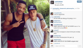 Justin Bieber Zone & Instagram Photo: Photo Doté Pop Star, Will Smith est le plus aimé Pic 2013