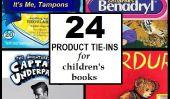 24 enfants des livres qui crient pour le placement de produit: une prédiction de la commercialisation à venir