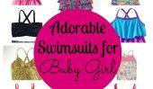 10 Maillots adorables pour bébé fille