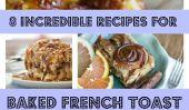 8 incroyables façons de faire au four française Toast