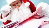 Adresse de Santa Claus - si la liste de souhaits atteint sa destination
