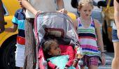Élégant Heidi Klum déjeune avec ses filles (Photos)