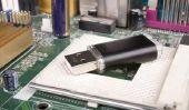 Branchez la clé USB à un téléviseur Samsung - de sorte que vous allez