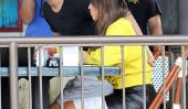 Kourtney Kardashian, Scott & Sisters Do Déjeuner: Quoi de neuf avec le Diamond Ring?  (Photos)