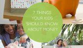 7 choses que vos enfants devraient savoir sur l'argent