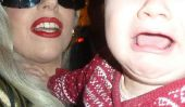 Lady Gaga peur bébé - Voyant cela, nous aurions crié!