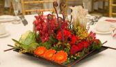 Les arrangements floraux conçus par vous - alors allez-y