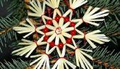 idées de bricolage pour le marché de Noël - de sorte que vous pouvez créer de petites œuvres d'art faites de paille