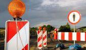 Code de la route - des signes et des zones trafic d'interdire l'utilisation de la route