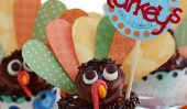 12 Adorable Turquie Cupcakes pour Thanksgiving
