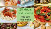 20 repas et des collations pour enfants peut aider à rendre