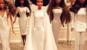 Nous ne pouvons pas cesser de regarder à la photo de mariage de Solange recréé avec des poupées