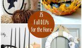 25 DIYs d'automne pour la maison