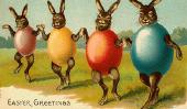 Pâques: 15 Ridiculously adorable, impressionnant & Odd Cartes de Pâques de Yore