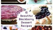 Sweets été!  15 belles Blackberry Dessert Recettes