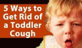 5 façons de remédier à une toux enfant