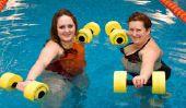 Sport exerce pour les personnes âgées - alors assurez-travail-outs âge appropriés et modérés ensemble