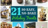 21 Brilliant Treats Pas-Cuire au four pendant votre assiette biscuits de Noël