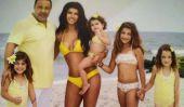 Teresa Giudice & Famille savoir comment faire Summer!  Plage, bateaux & Bikinis (Photos)