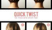 10 Easy cheveux Tutoriels