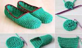 Chaussons crochet simples bricolage
