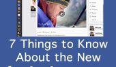 7 choses à savoir sur le nouveau Facebook Redesign