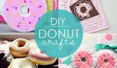 Sucrer Up!  10 Donut bricolage Artisanat