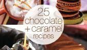 25 Chocolat et Caramel Delectable Recettes