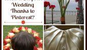 Voudriez-vous être surpris avec un mariage Pinterest?
