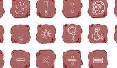 Assurez nouvelles - symboles de WhatsApp