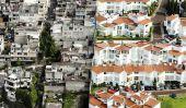 Photos aériennes de Oscar Ruíz de Rich Mexique et les pauvres