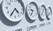 Convertir l'heure GMT correctement - comment il fonctionne pour différents fuseaux horaires