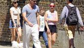 Jude Law et Sadie Frost avoir une journée familiale à Londres (Photos)