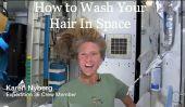 Comment se laver les cheveux dans l'espace