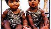 Sean Diddy Combs Prend Ses deux filles jumelles au spa pour un Mani / Pedi (Photos)