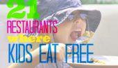 21 restaurants où les enfants mangent gratuit