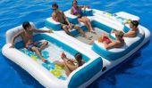 Impressionnant gonflable Ile flottante