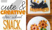 Jouer avec la nourriture: 7 Cute & Creative Idées de collations après l'école pour les bambins