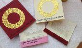DIY Jane Austen Inspiré Valentines et Comment plier une lettre Regency