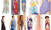 Que porter pour un mariage d'été: 10 Robes longues sur un budget