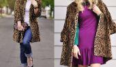 9 façons de porter un manteau imprimé léopard et un look d'enfer!