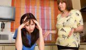 Armé avec les beaux-parents - comment résoudre les problèmes