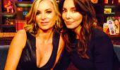 «The Real Housewives of Beverly Hills Saison 5 Cast: Eileen Davidson et Whitney Cummings Chelem Brandi Glanville sur« regardez ce qui arrive Live '