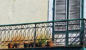Installez des stores sur balustrade