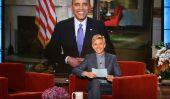 Le président Barack Obama et la Première Dame Michelle à obtenir des tatouages assortis avec Filles [WATCH]