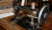 Dans la machine à coudre du fil de la bobine - donc il va travailler avec des machines anciennes