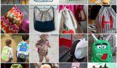 Comment faire un sac à dos: 30 Patrons gratuits pour les adorables sacs à dos