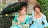 Assurez période baroque costume lui-même - de sorte que vous pouvez habiller médiévale