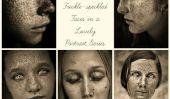Le photographe braque les projecteurs sur les Tache de rousseur-mouchetée Visages dans une série Lovely Portrait (PHOTOS)
