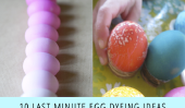 10 Dernière minute Egg teinture idées!